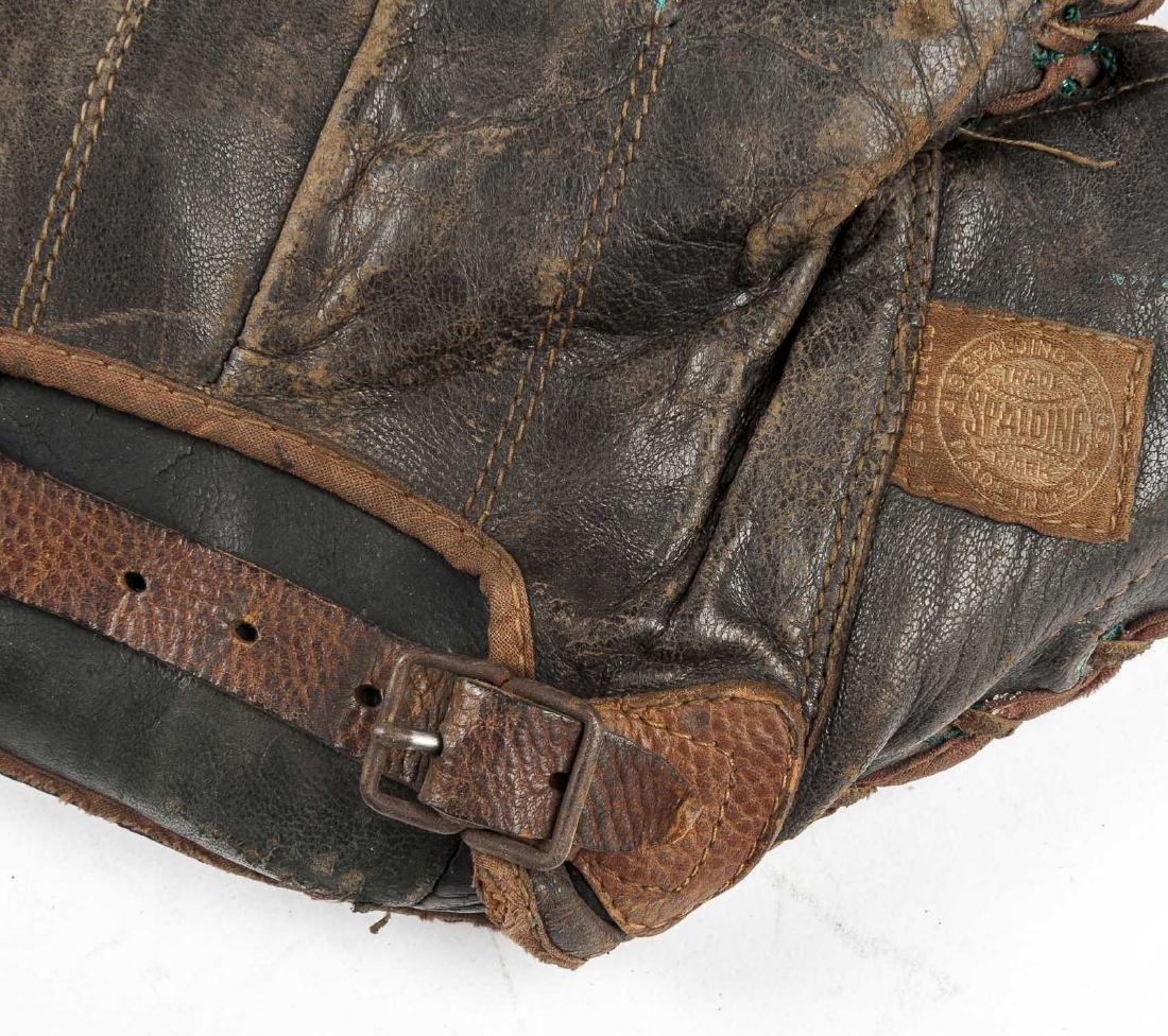 4 1920's 1st Baseman Gloves Incl Spalding - 5