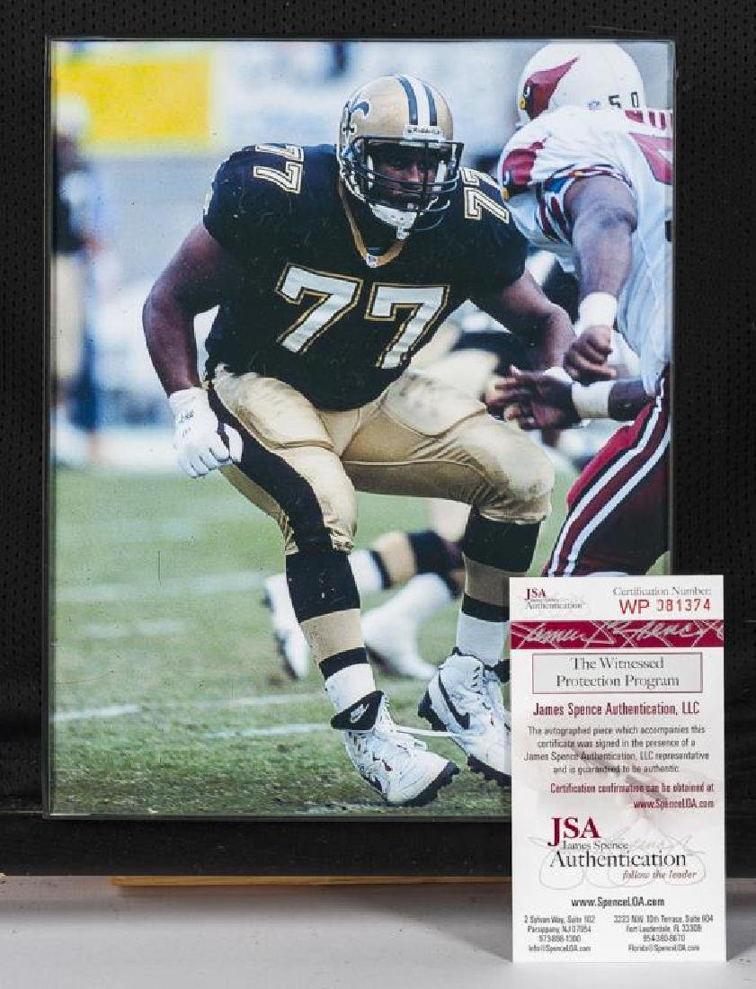 Autographed Willie Roaf Football Jersey - 2