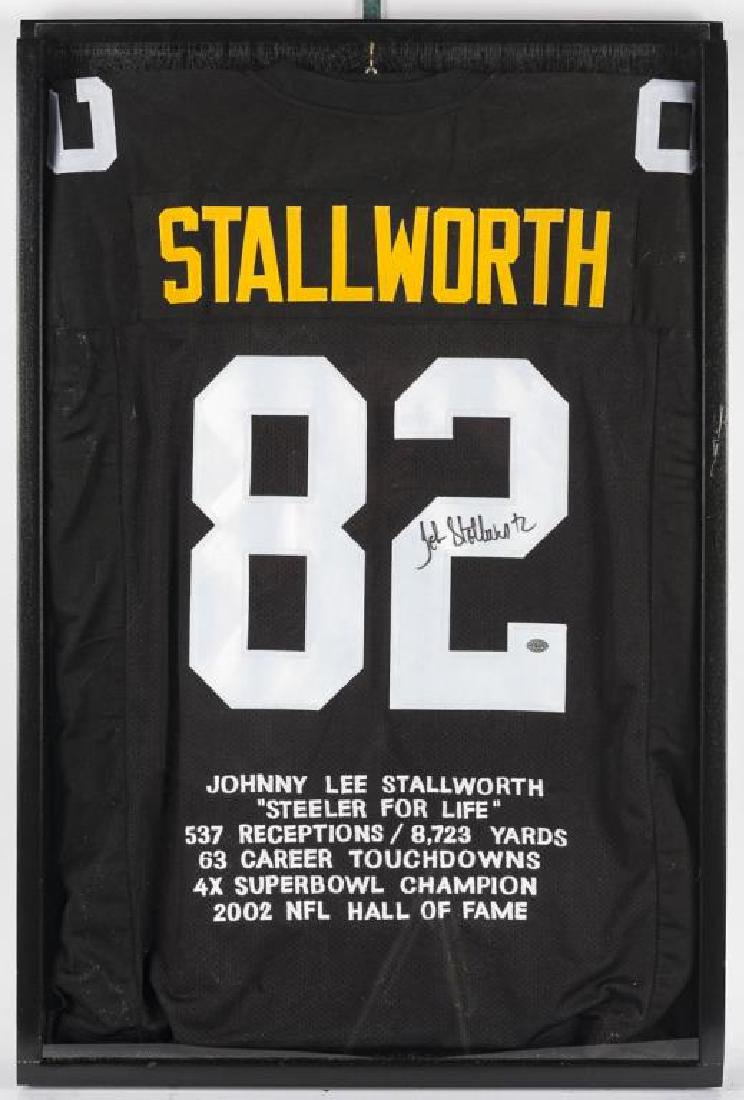 Autographed John Stallworth Football Jersey