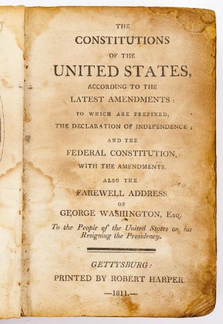 Constitutions of the US C. 1811