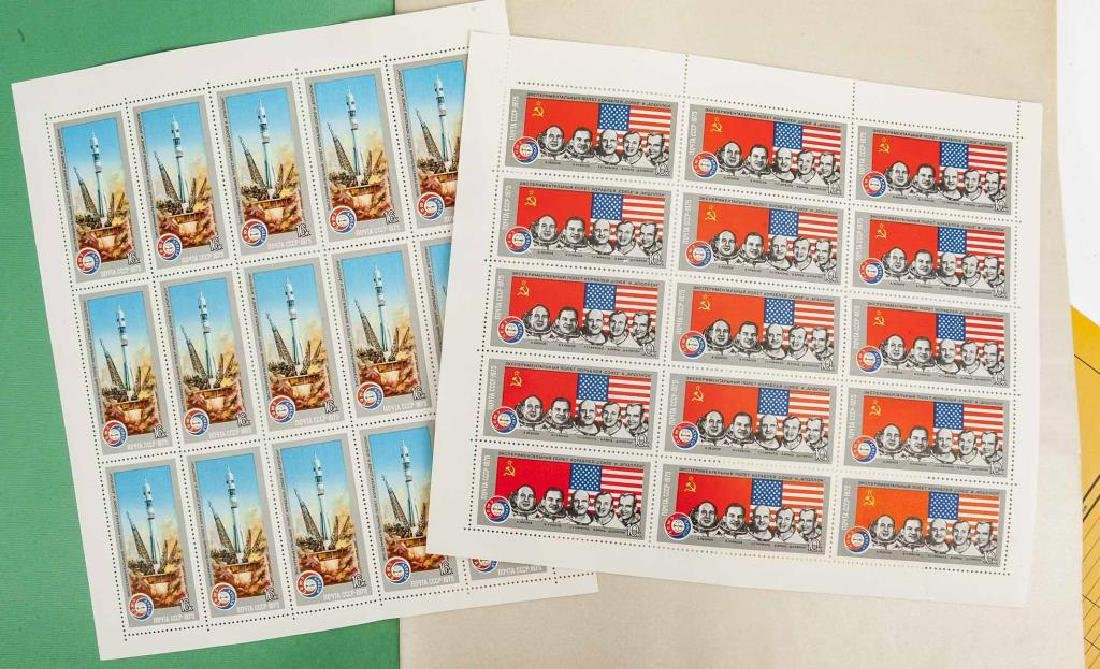 1980s Mint Postage Sheets - 2