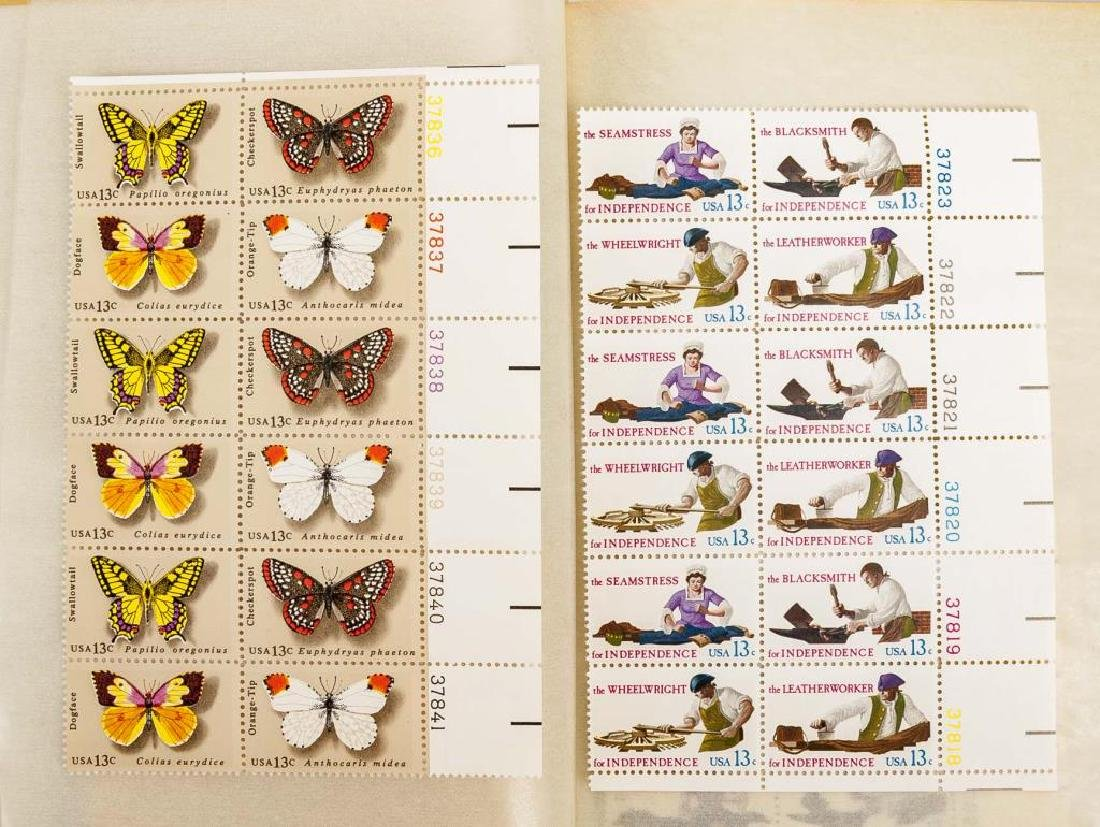 1980s Mint Postage Sheets - 7