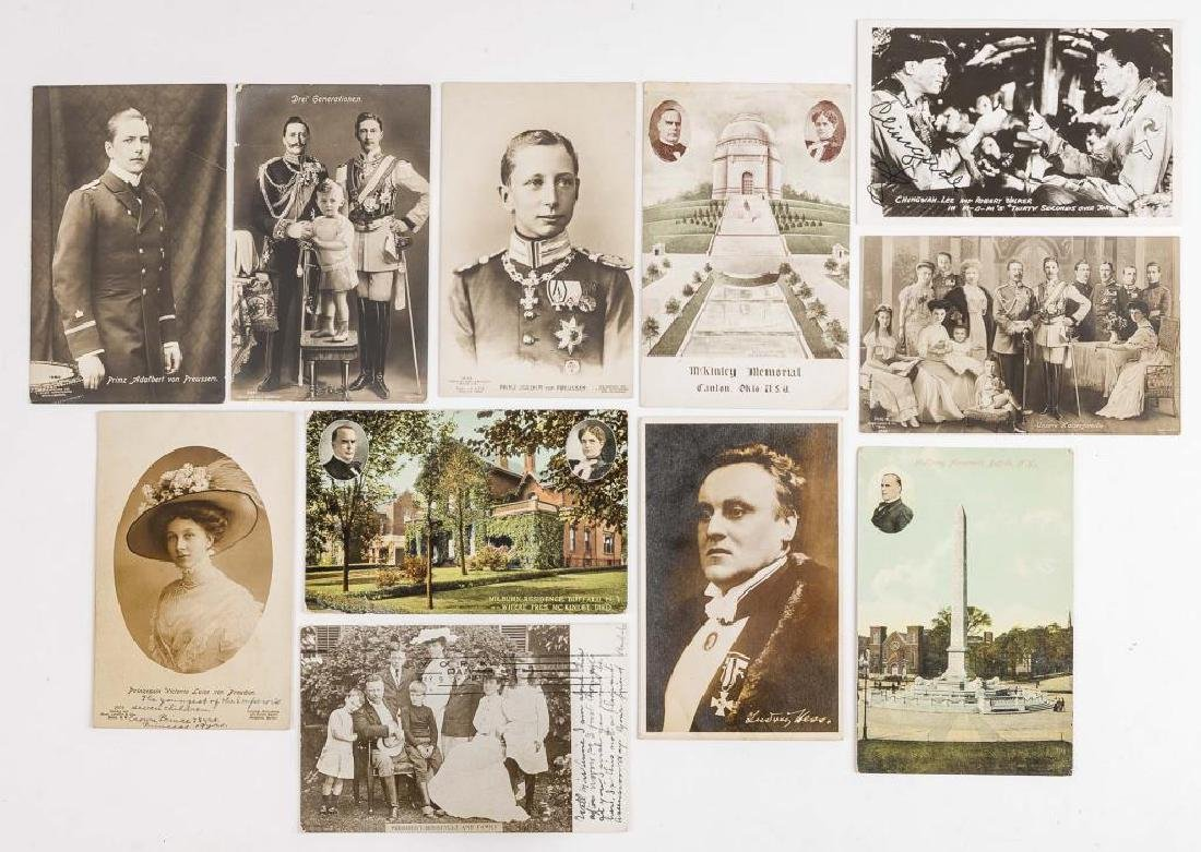 11 Notable Peoples Vintage Postcards