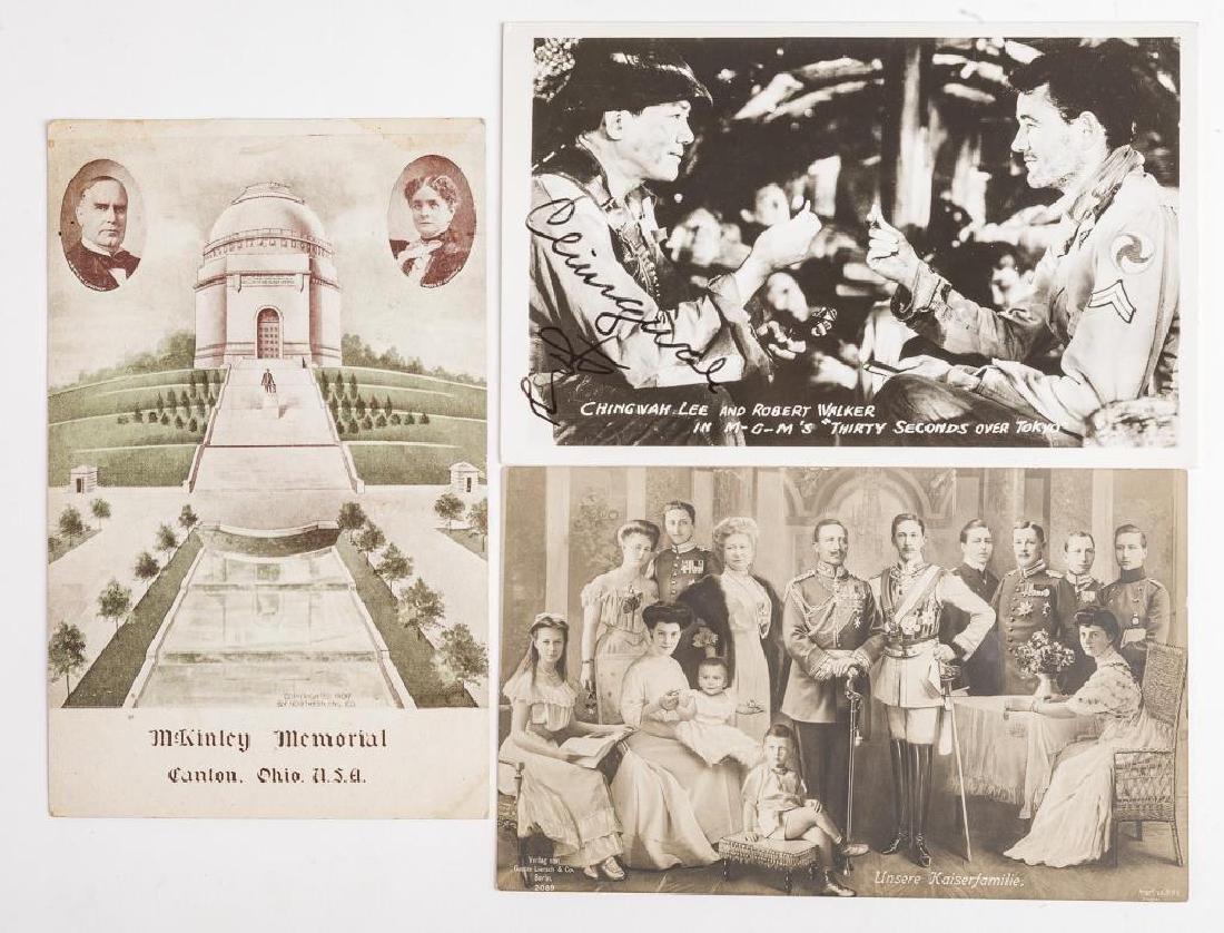 11 Notable Peoples Vintage Postcards - 2