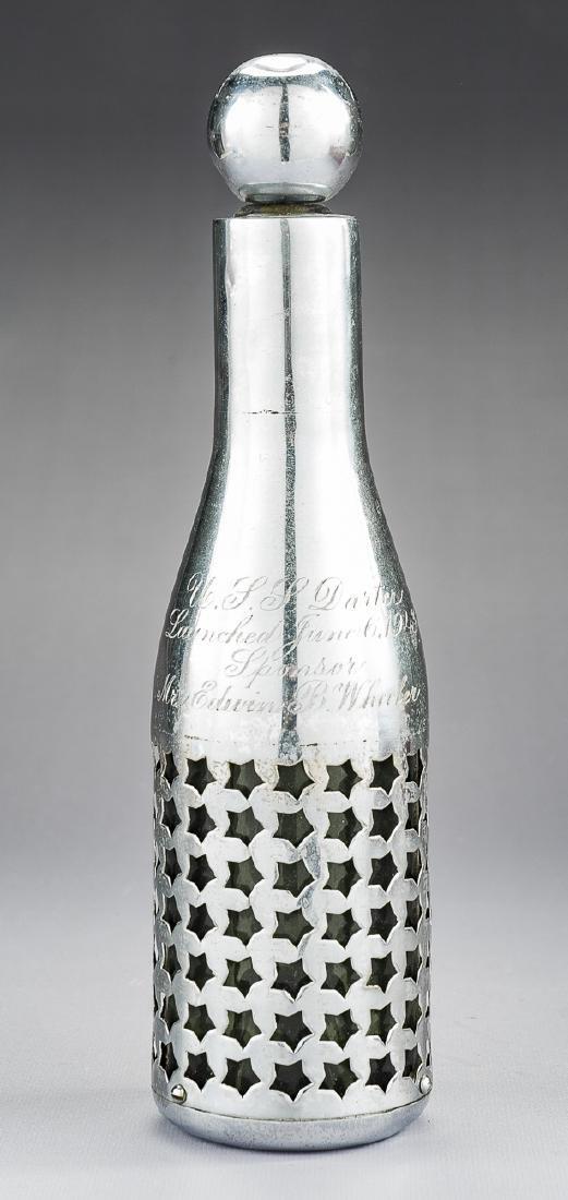 USS Darter Submarine Commission Bottle - 4