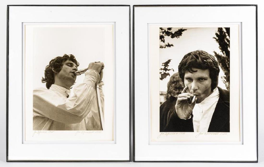 2 Jim Marshall Photographs of Jim Morrison
