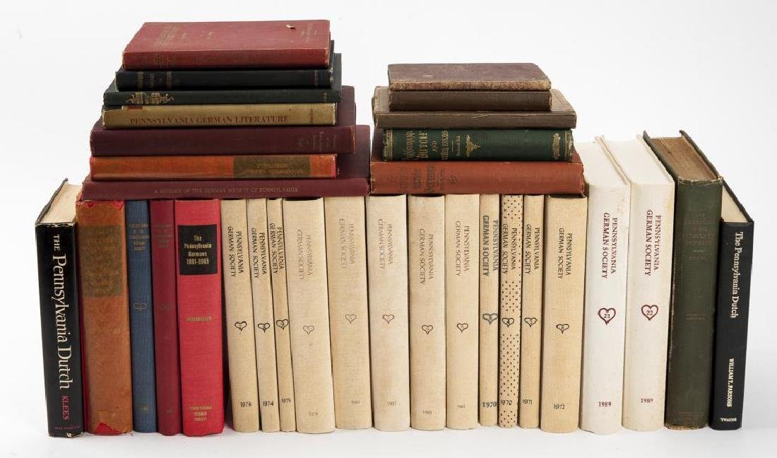 33 Books on Pennsylvania Germans/Dutch