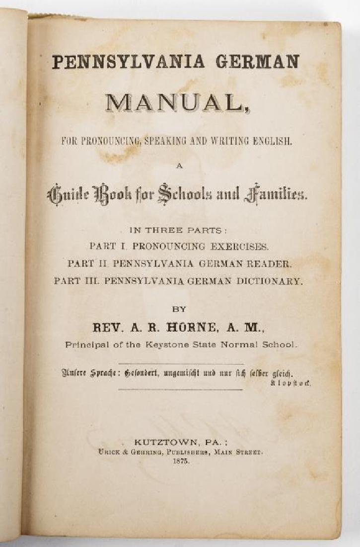 33 Books on Pennsylvania Germans/Dutch - 8