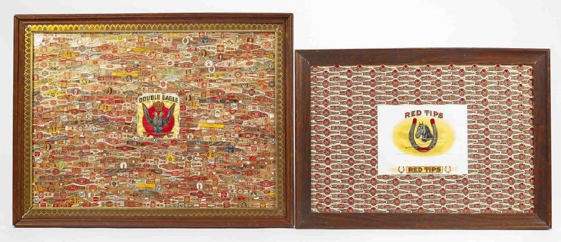 2 Cigar Label Collages