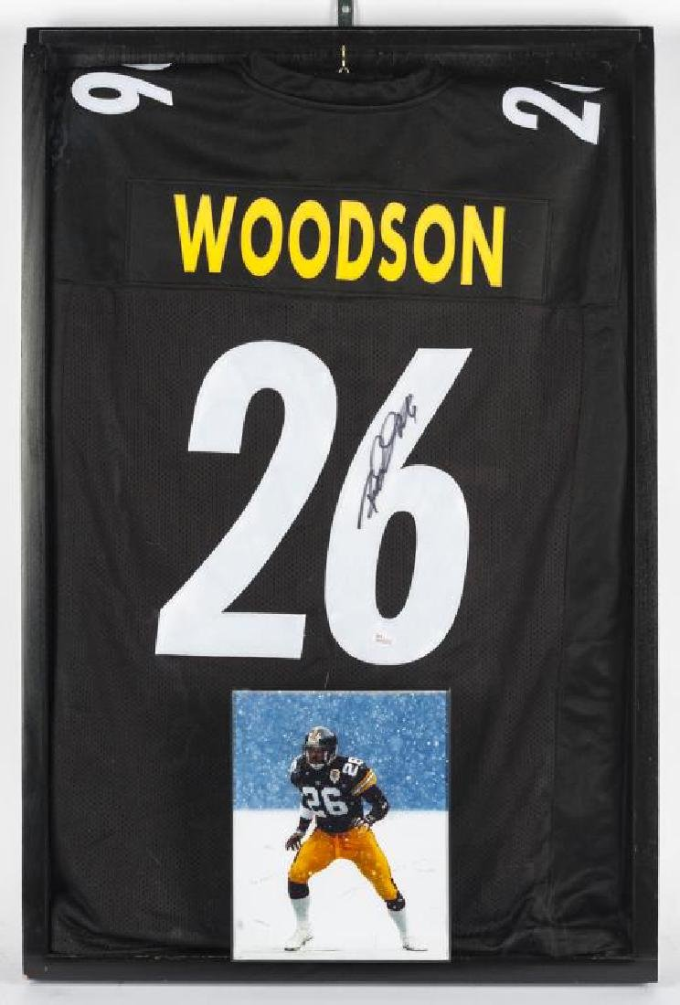 Autographed Rod Woodson Football Jersey