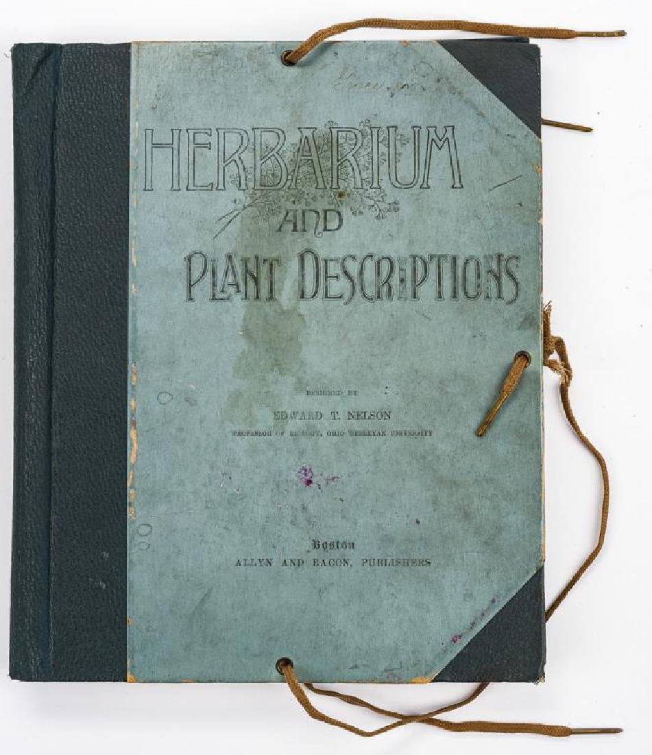 Herbarium & Plant Descriptions C. 1888