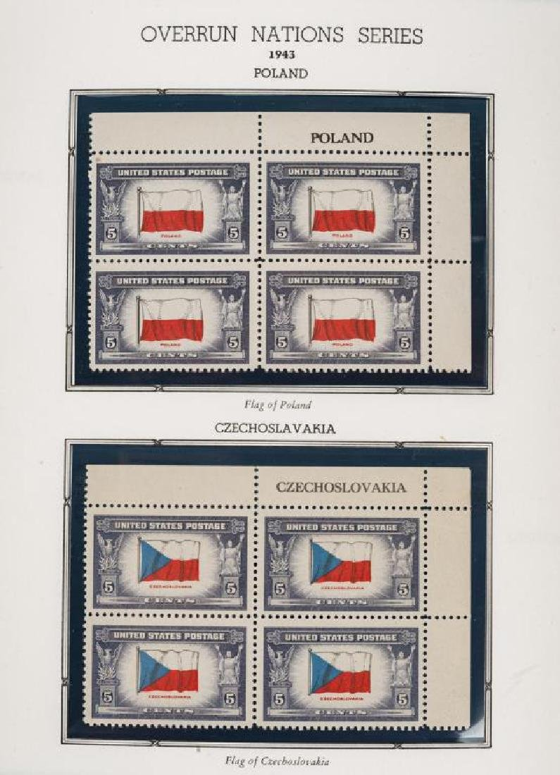 Large U.S. Mint Stamp Collection - 9
