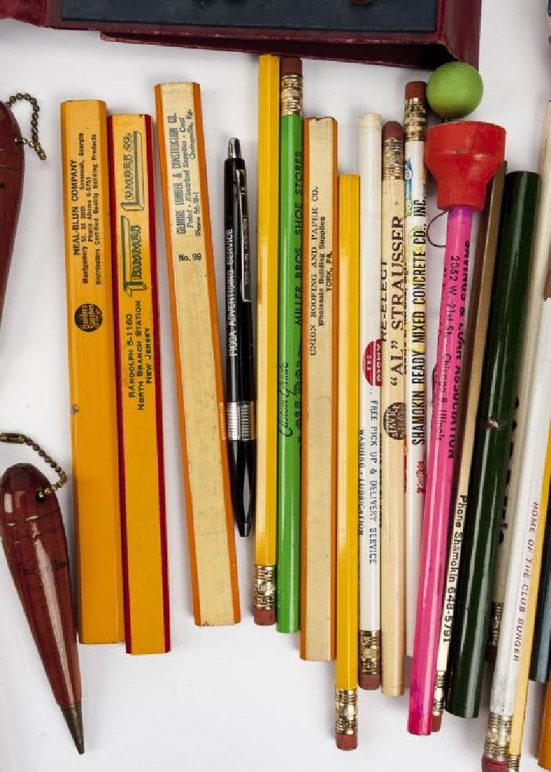 226 C. 1940s-1960s Advertising & Souvenir Pencils - 2