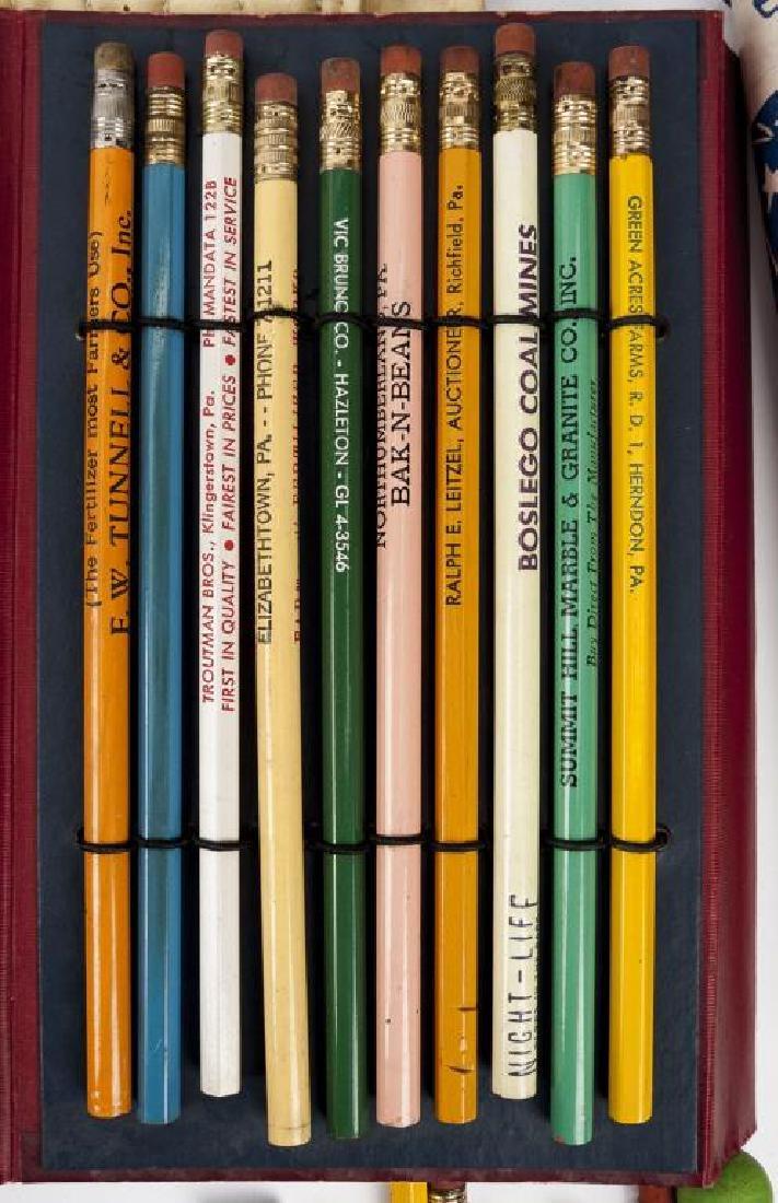 226 C. 1940s-1960s Advertising & Souvenir Pencils - 6