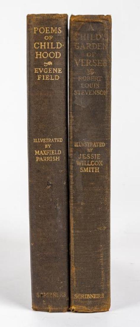 2 Books Illus by M. Parrish & J. Willcox Smith