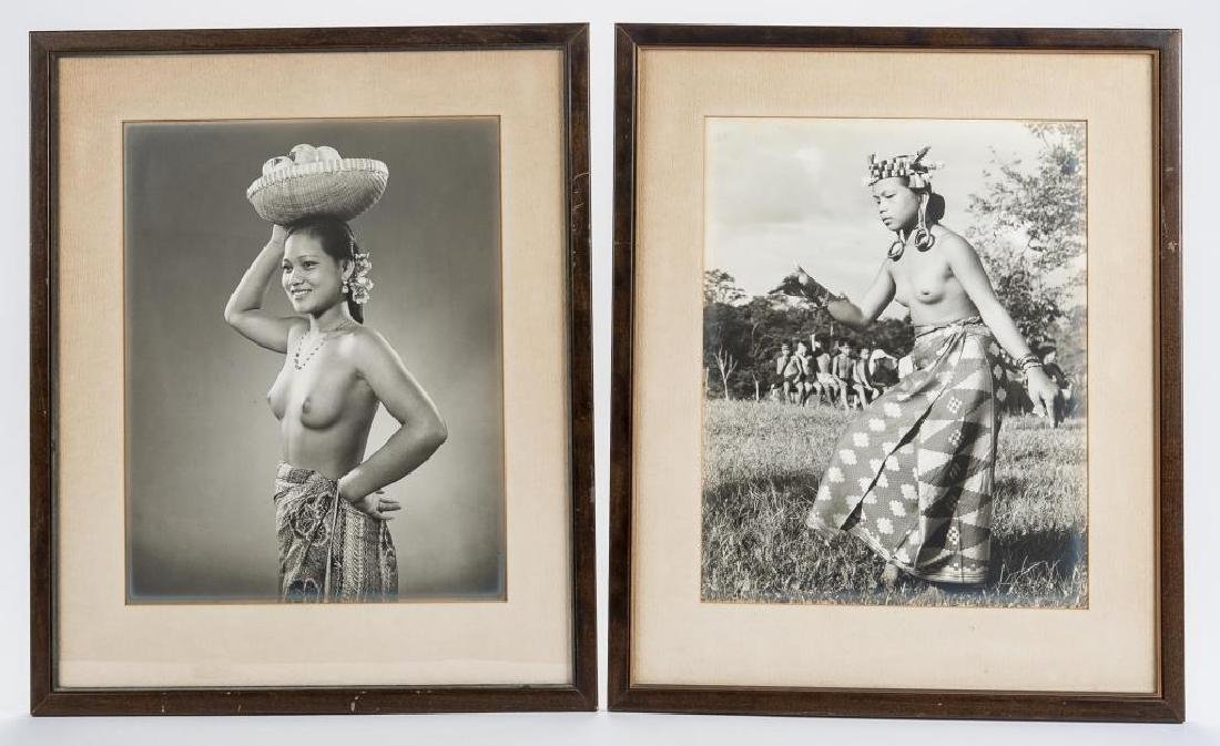 2 Black & White Native Women Photographs