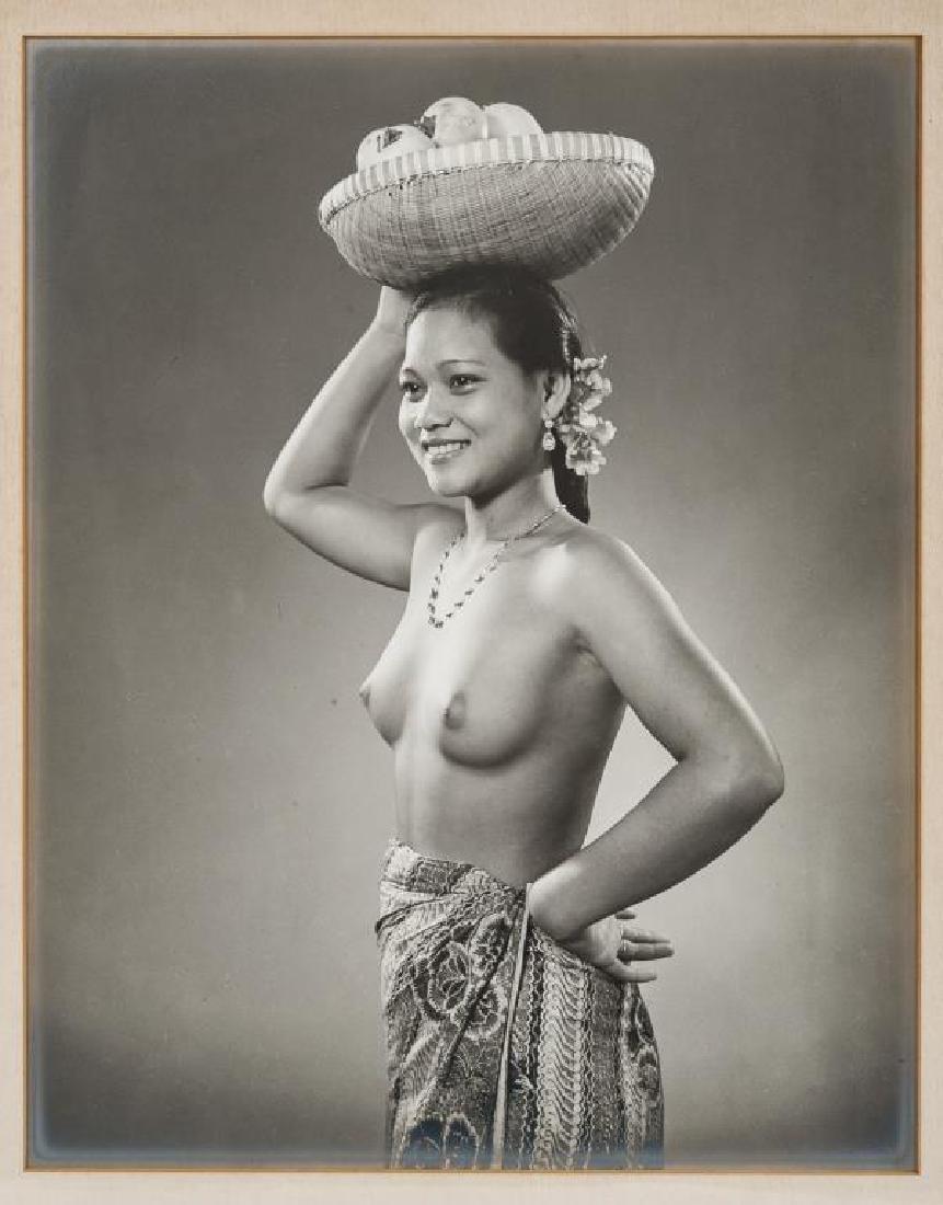 2 Black & White Native Women Photographs - 3
