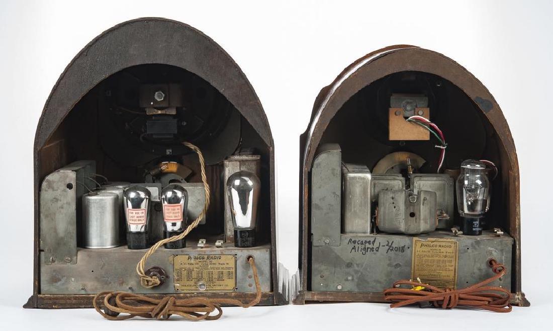 2 1930s Philco Cathedral Radios - 3