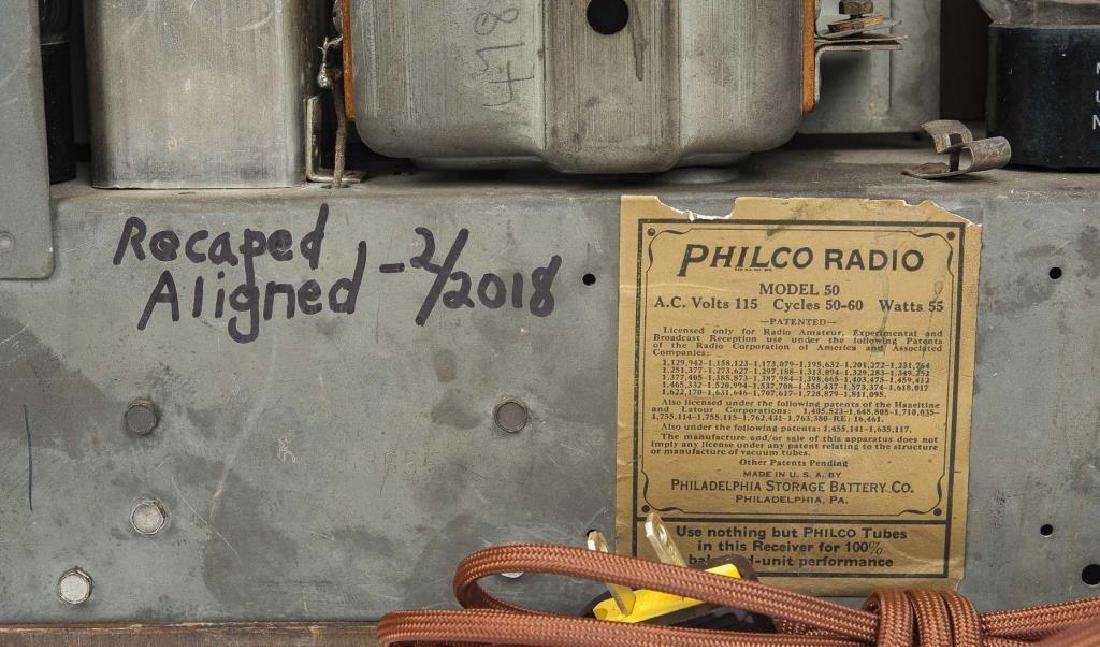 2 1930s Philco Cathedral Radios - 6