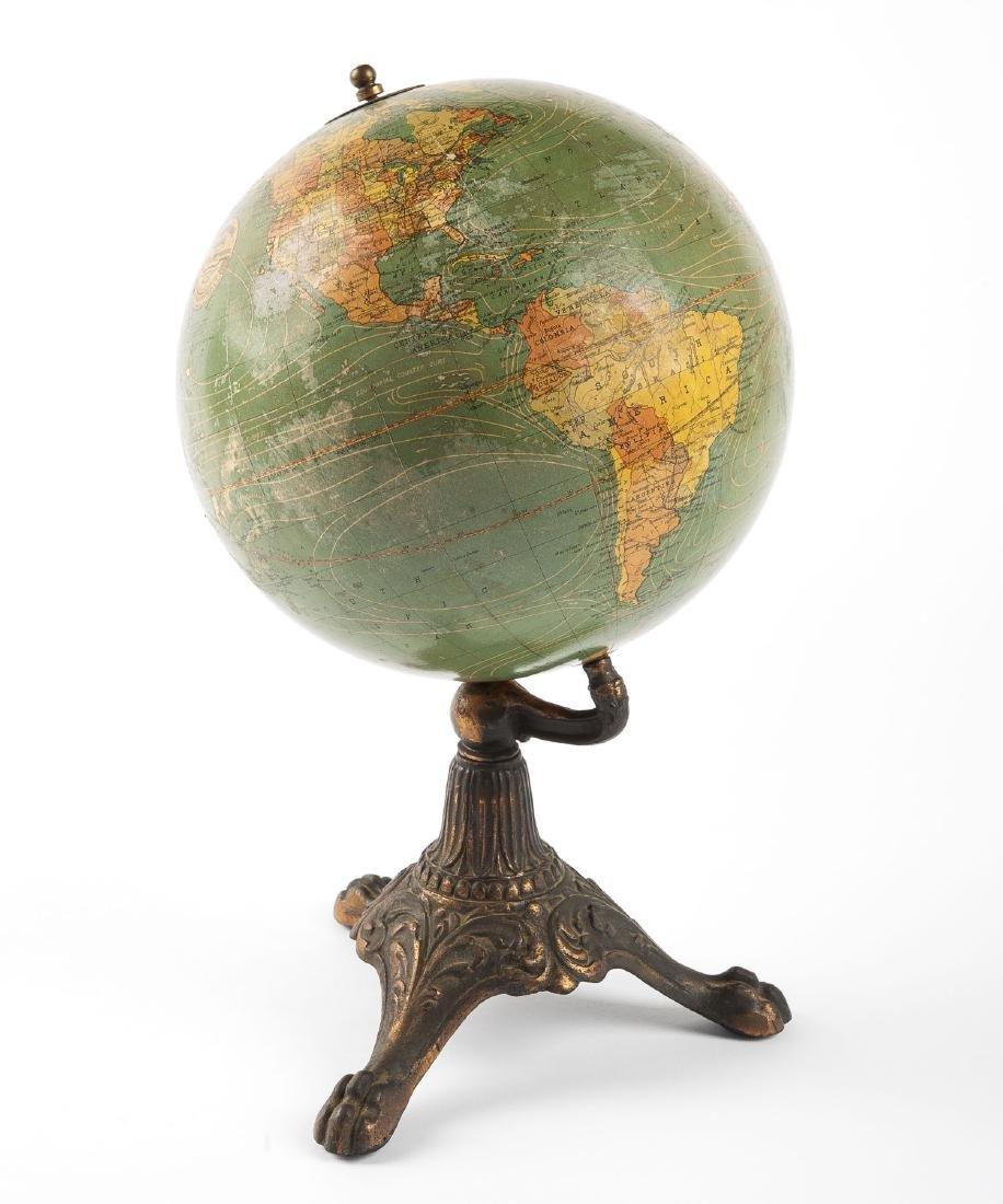 A.J. Nystrom & Co. 8 Inch Terrestrial Globe