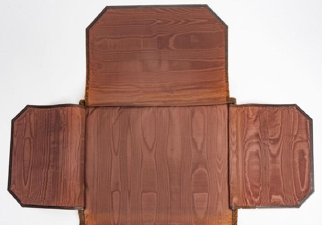 Hand Tooled Italian Leather Portfolio - 5