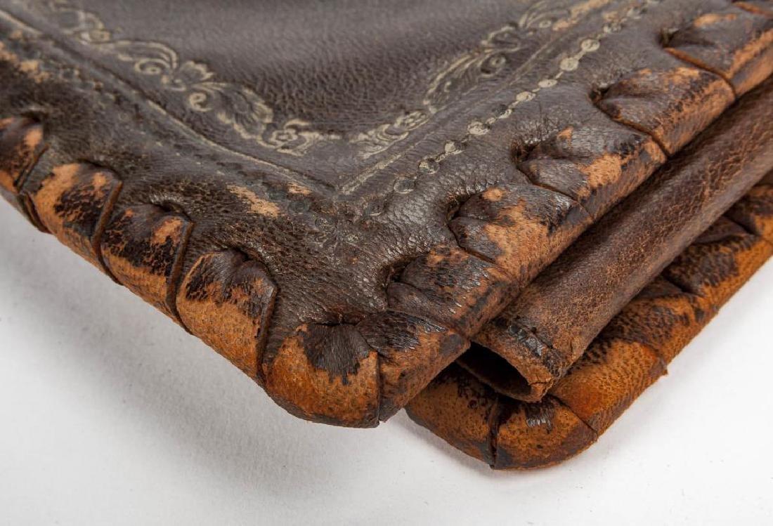 Hand Tooled Italian Leather Portfolio - 6