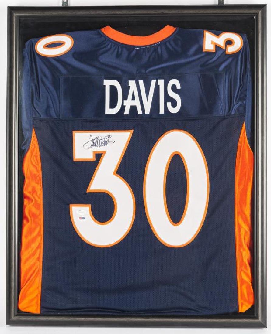 Autographed Terrell Davis Football Jersey