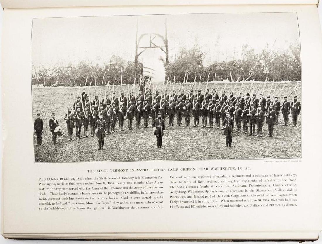 10 Vols Photographic History of Civil War, Miller - 8