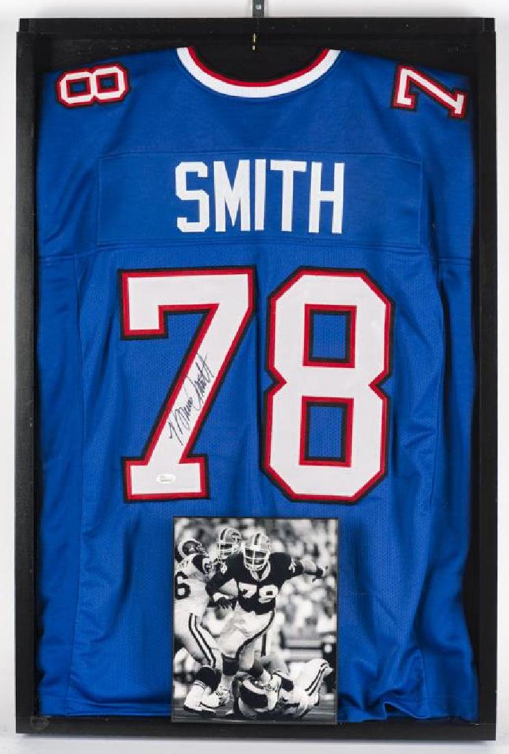 Autographed Bruce Smith Football Jersey