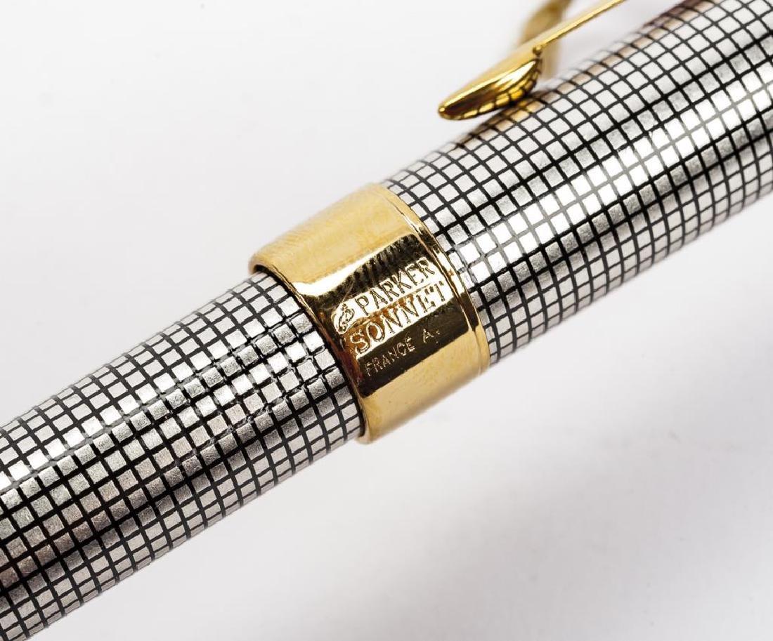 Sterling Parker Sonnet Cisele Rollerball Pen in OB - 6