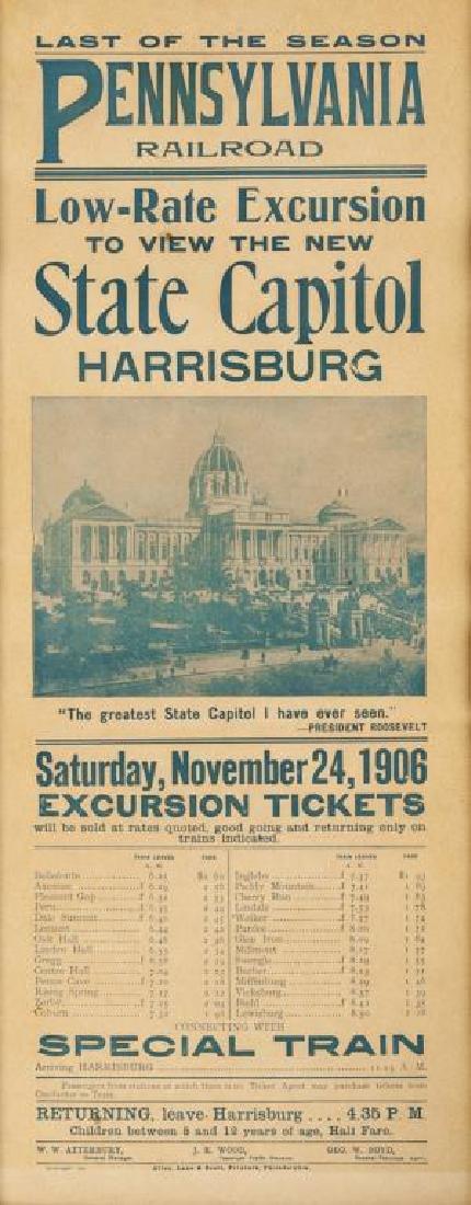PRR Capitol Excursion Poster