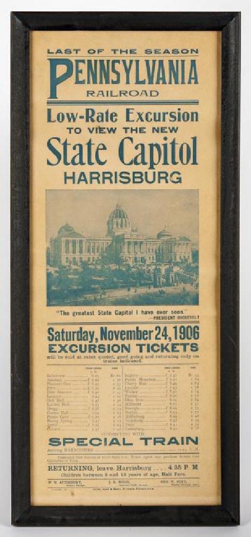 PRR Capitol Excursion Poster - 2