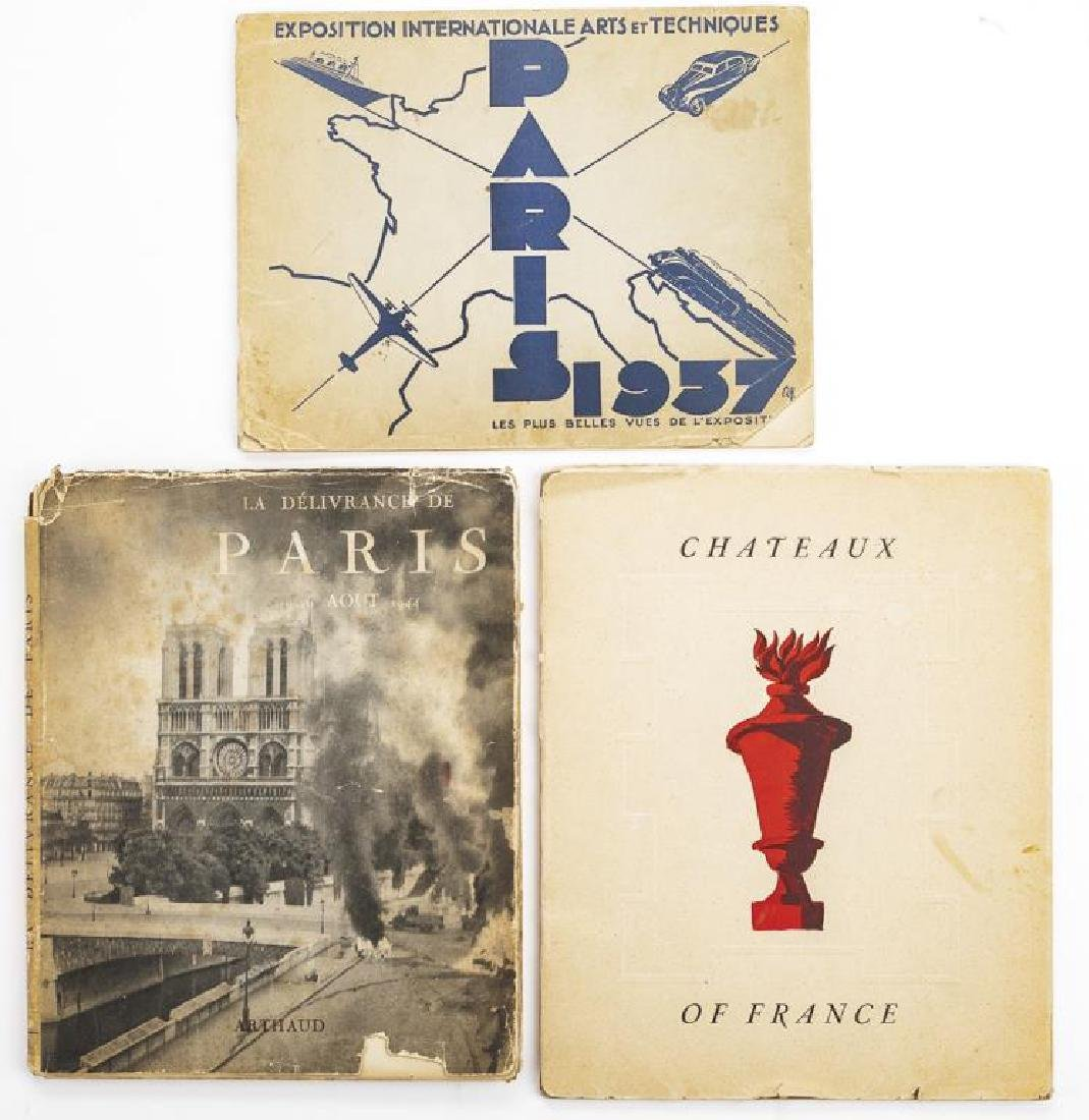 3 Books on France C. 1930s-1940s