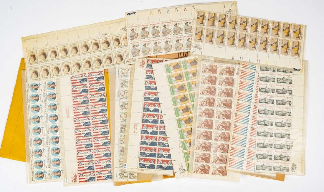 1980s Mint Postage Sheets - 3