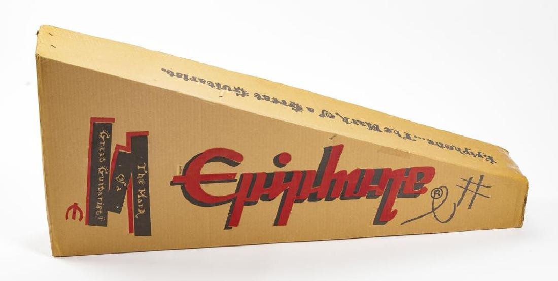 Autographed Epiphone Acoustic Guitar in OB - 10