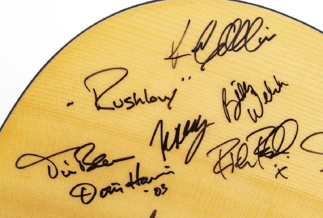 Autographed Epiphone Acoustic Guitar in OB - 4