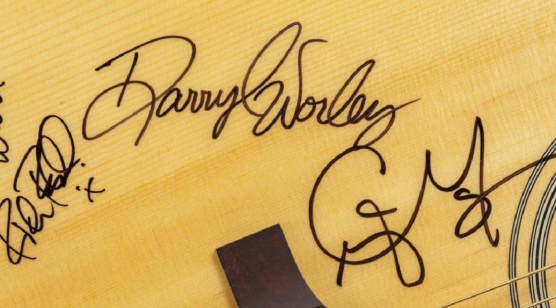 Autographed Epiphone Acoustic Guitar in OB - 5