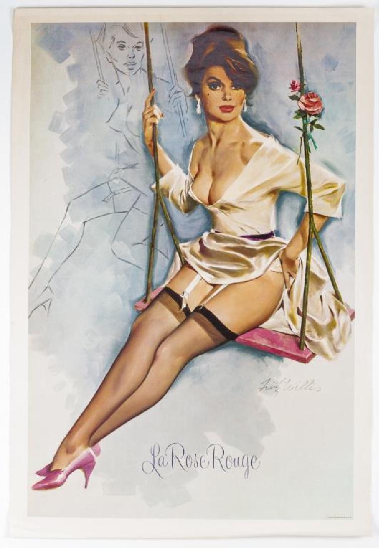 Fritz Willis (California, 1907-1979) La Rose Rouge