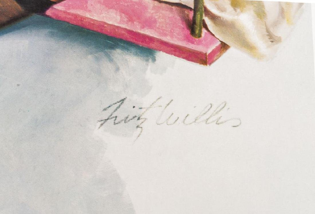 Fritz Willis (California, 1907-1979) La Rose Rouge - 2