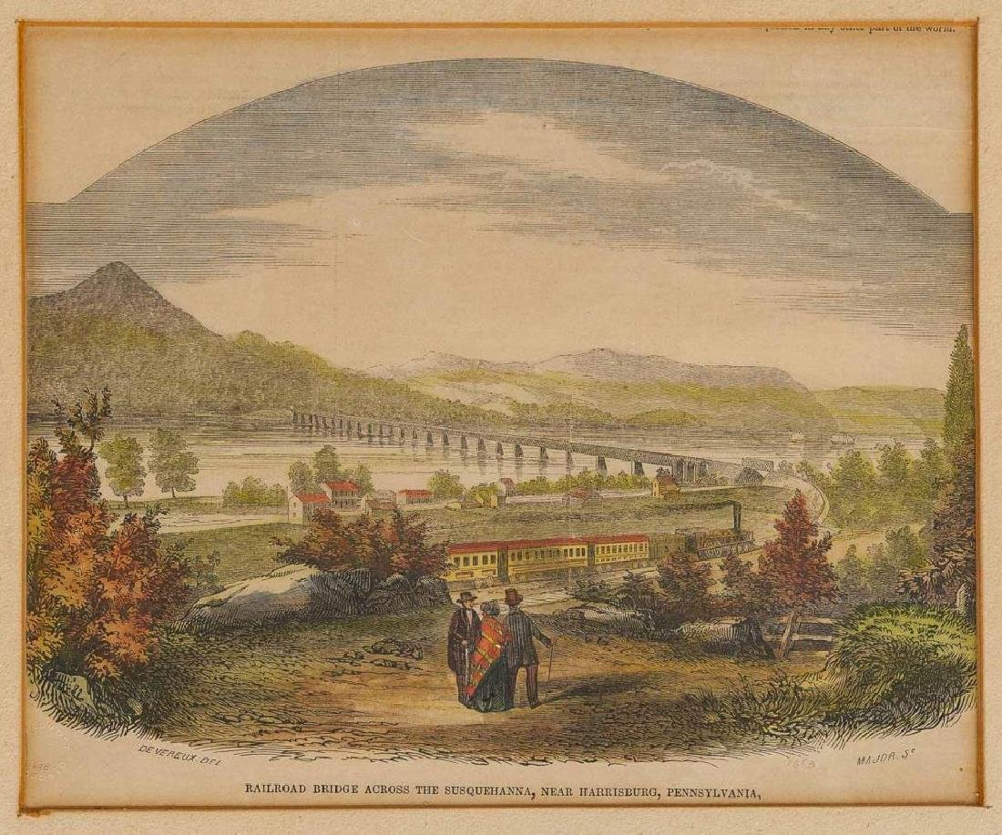 3 Harrisburg Area Prints Incl Devereux, 19th C. - 3