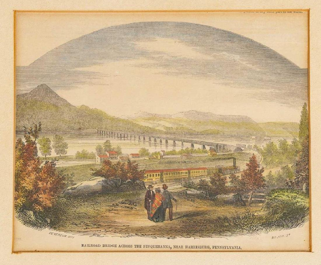 3 Harrisburg Area Prints Incl Devereux, 19th C. - 5