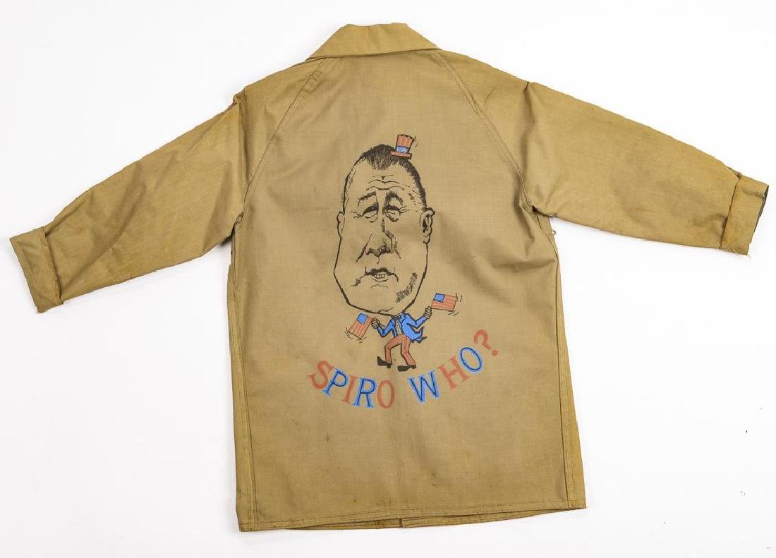 """Spiro Who?"" Political Campaign Jacket for Agnew"