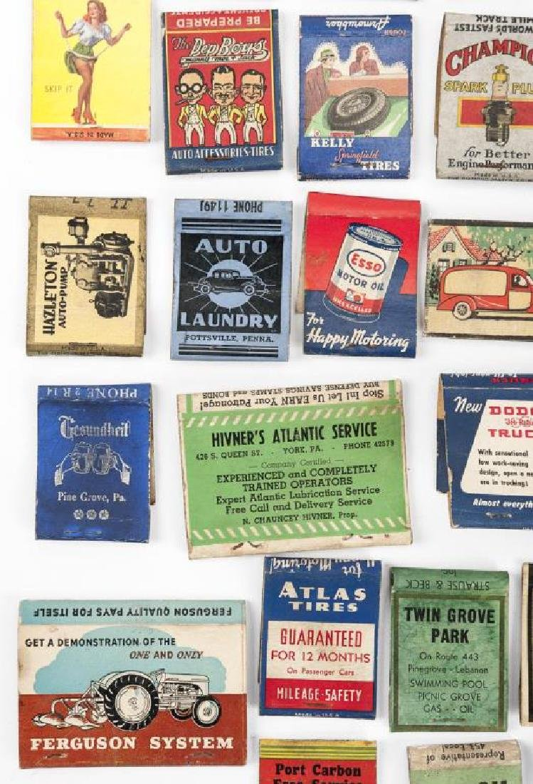 52 Matchbooks - Transportation & Service Stations - 6