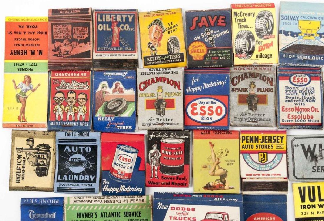52 Matchbooks - Transportation & Service Stations - 8