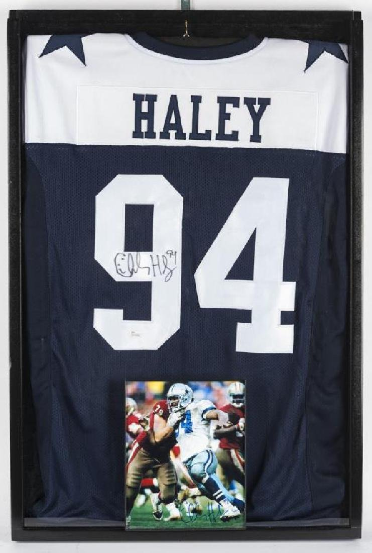 Autographed Charles Haley Football Jersey