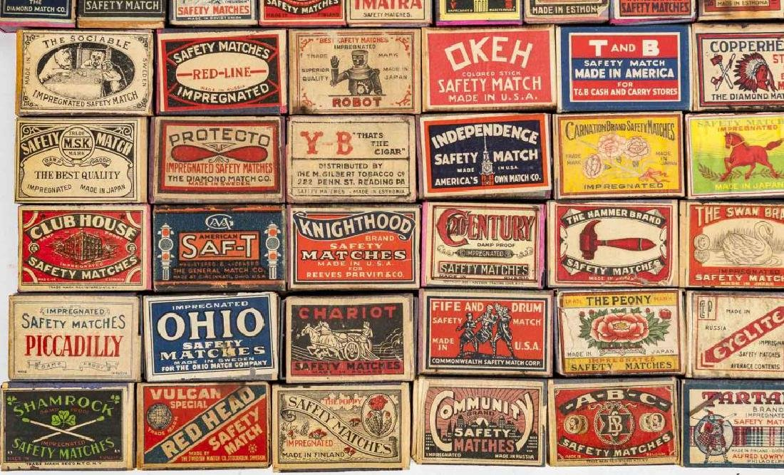 173 Safety Match Containers - 3