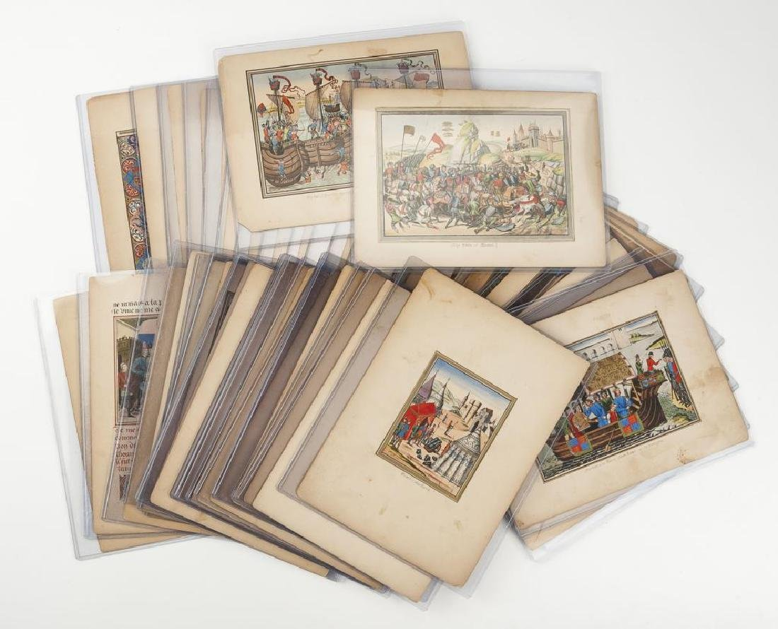 42 Plates from Froissart's Chronicles of England
