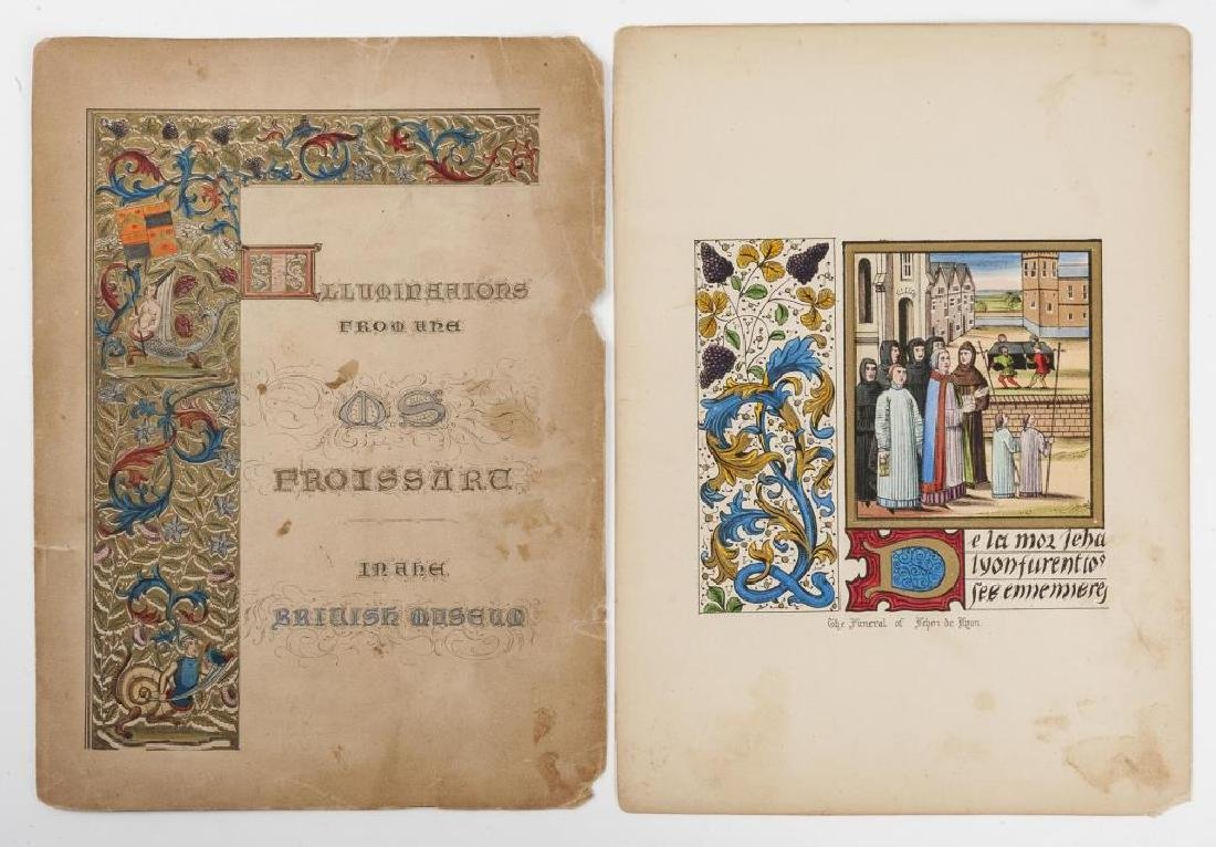 42 Plates from Froissart's Chronicles of England - 4