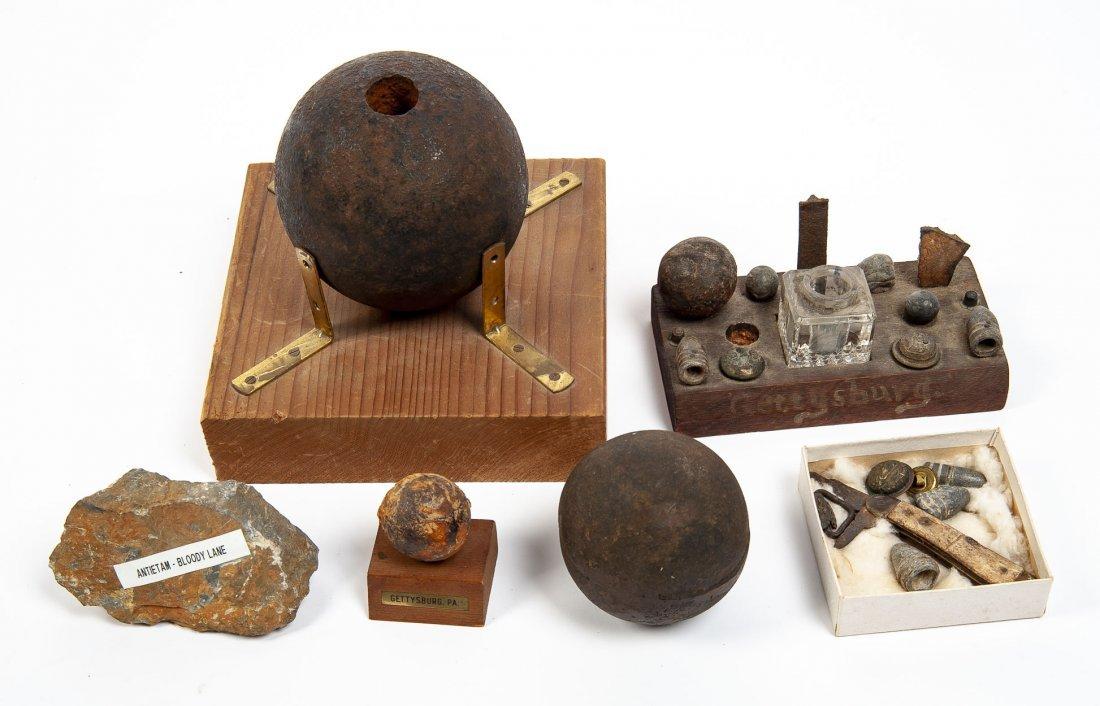 Civil War Souvenir Relics