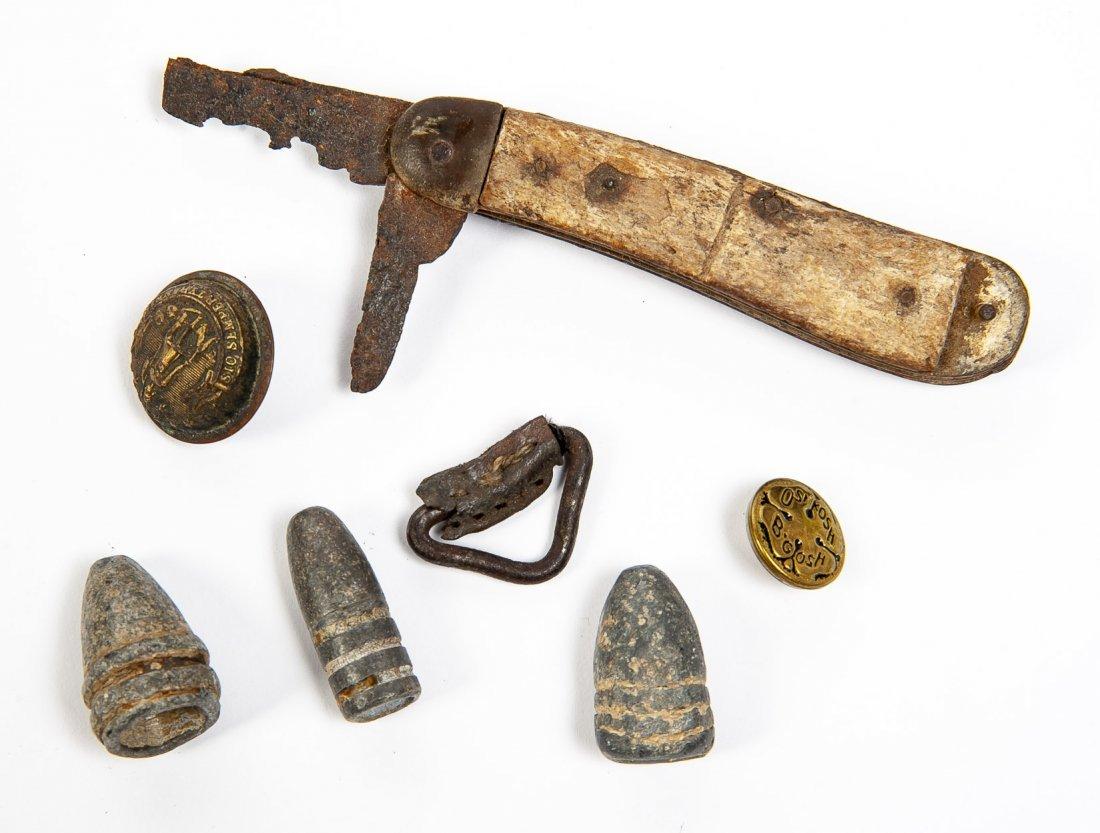 Civil War Souvenir Relics - 9